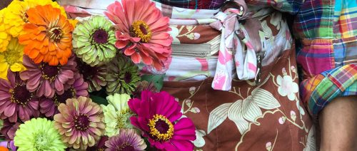 flower farmer | farmer florist market apron by LynnVale Studios, llc