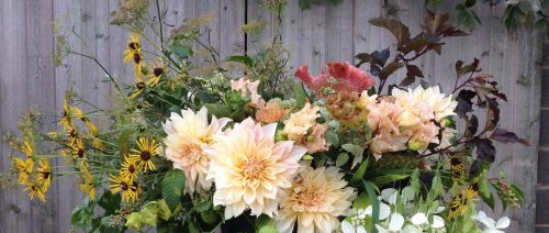 seasonal locaflowers for any event at LynnVale Studios