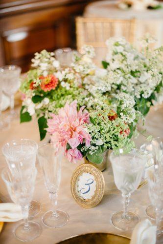 Garden Party Wedding, flowers by LynnVale Studios, photo by Rebekah Murray